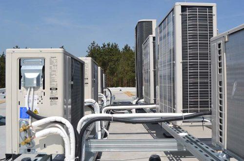 Instalacja klimatyzacji i wentylacji – Biurowiec Wysogotowo