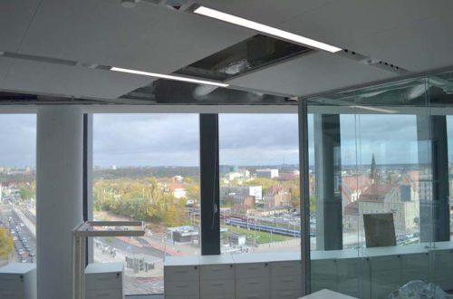 Instalacja Wentylacji w Nowej Siedzibie PKO BP w Wieżowcu Bałtyk w Poznaniu
